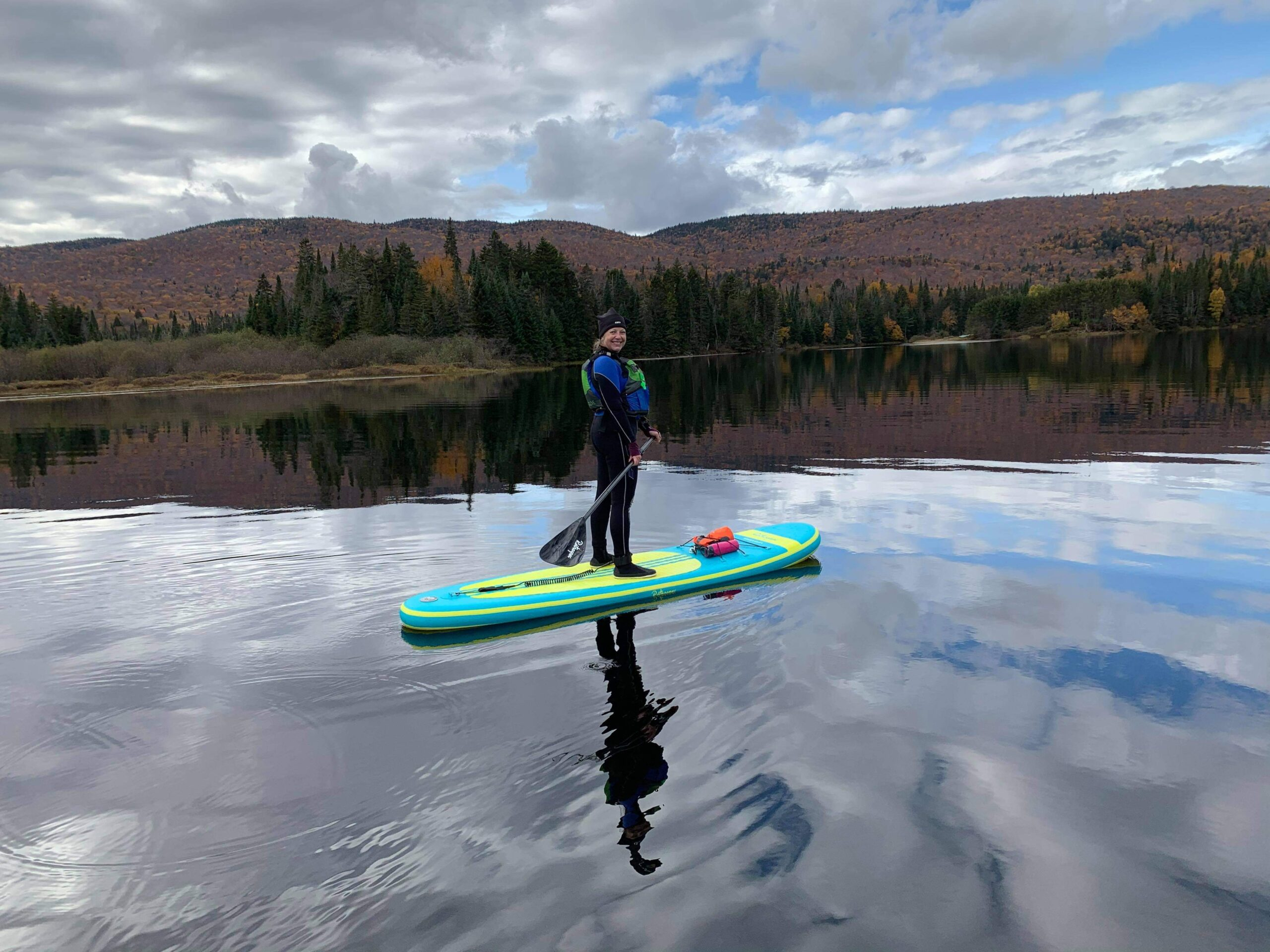 MY FIRST ENCOUNTER WITH A SUP
