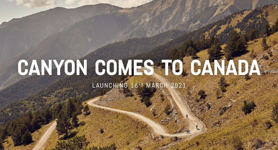 CANYON BICYCLES ANNOUNCES ARRIVAL   IN CANADA